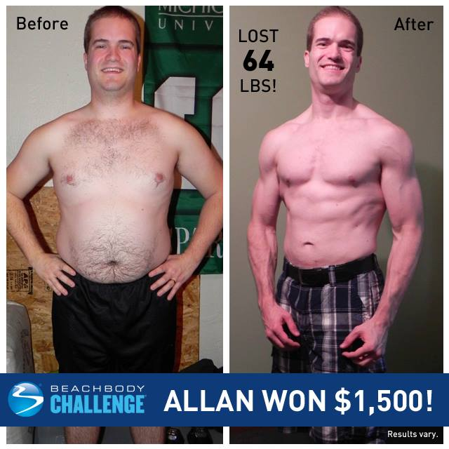 Let's Help Allan T. Win the Beachbody Quarterly Challenge!