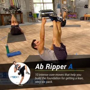 P90 Workout Sweat B Ab Ripper A