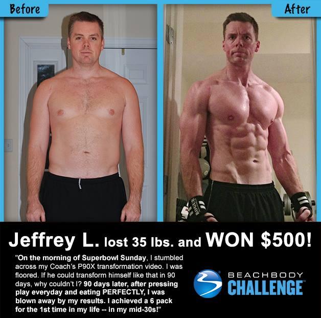 P90X Results - Jeff L