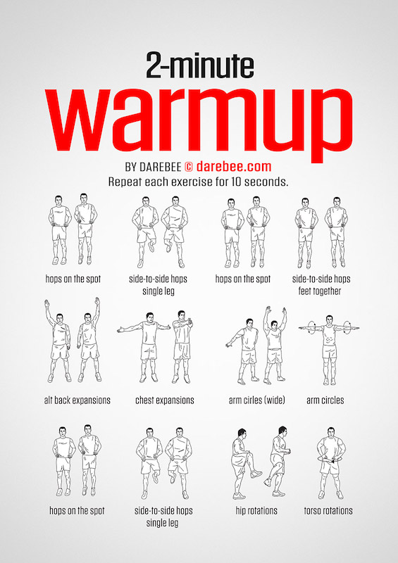 2-minute Warmup