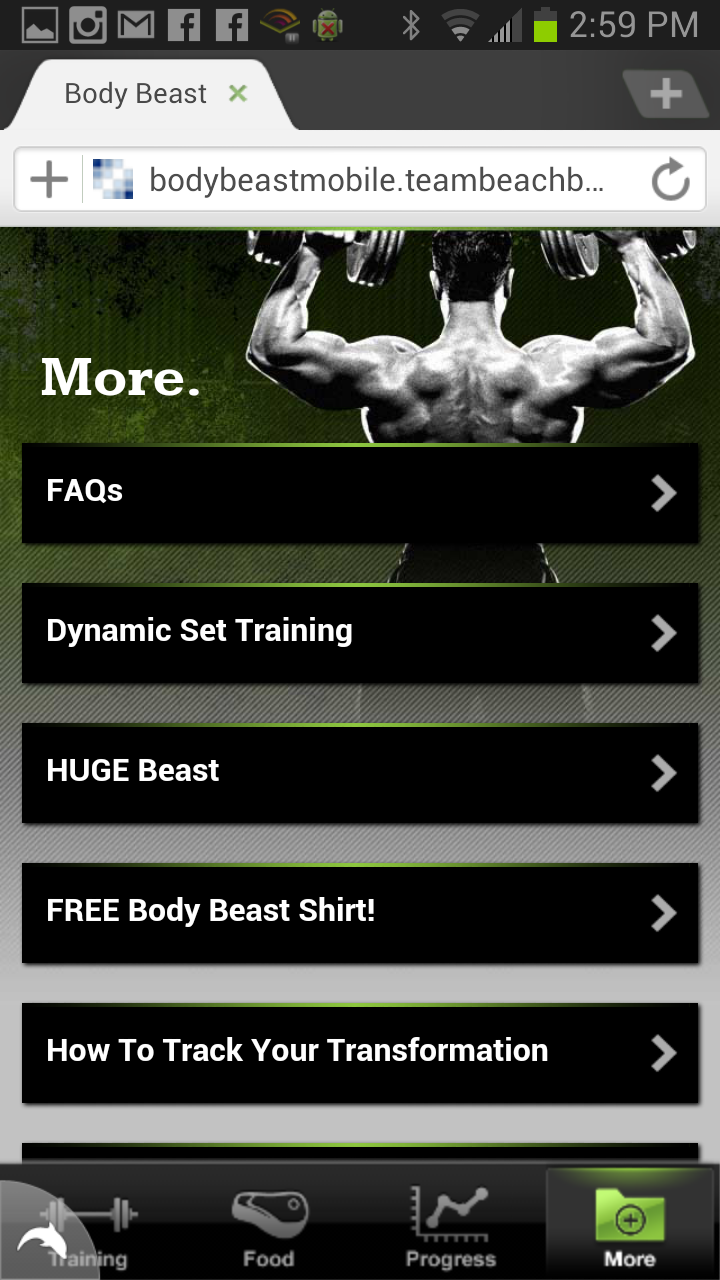 Body Beast - Mobile App - Now Available! | FREE coaching ...