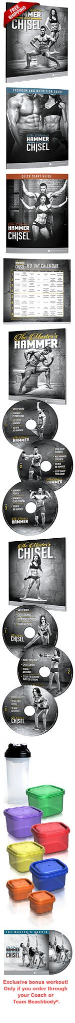 Hammer and Chisel Fitness Program