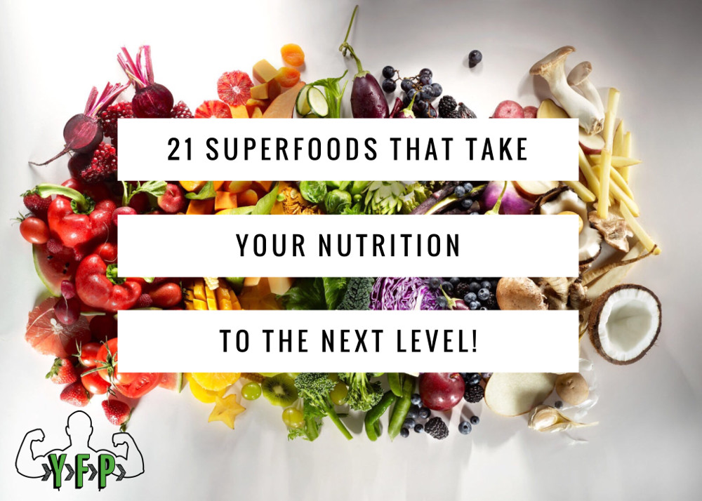21 Superfoods Checklist