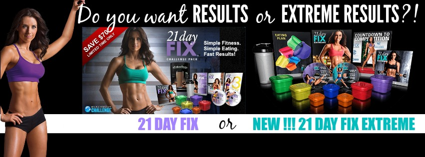 What's the Difference Between 21 Day Fix and 21 Day Fix Extreme?