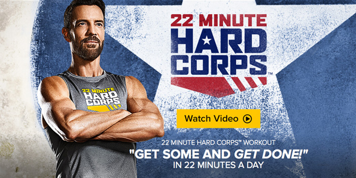 Tony Horton Creates Boot Camp Workout: 22 Minute Hard Corps