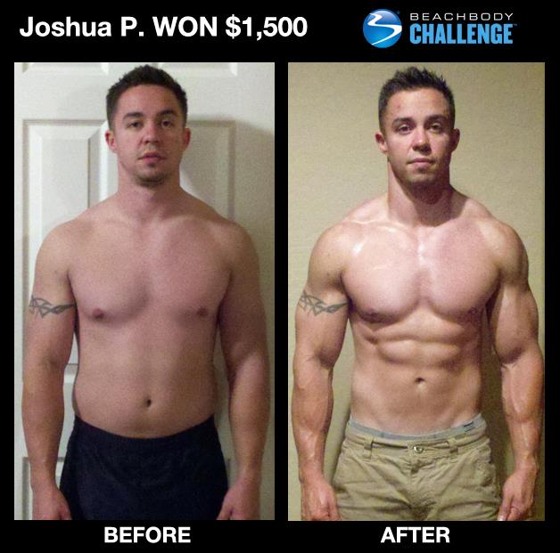 Josh P. Won $1500 with P90X & P90X2! - Your Fitness Path
