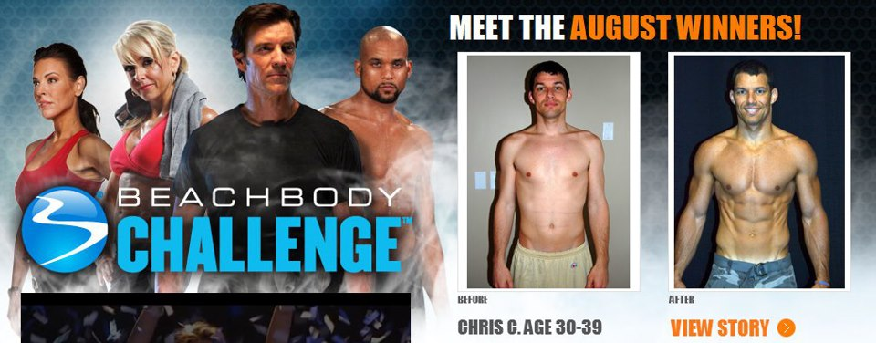 Beachbody Challenge Winning Results