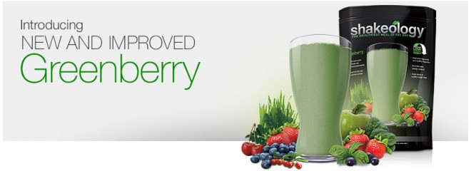 Improved Greenberry Shakeology