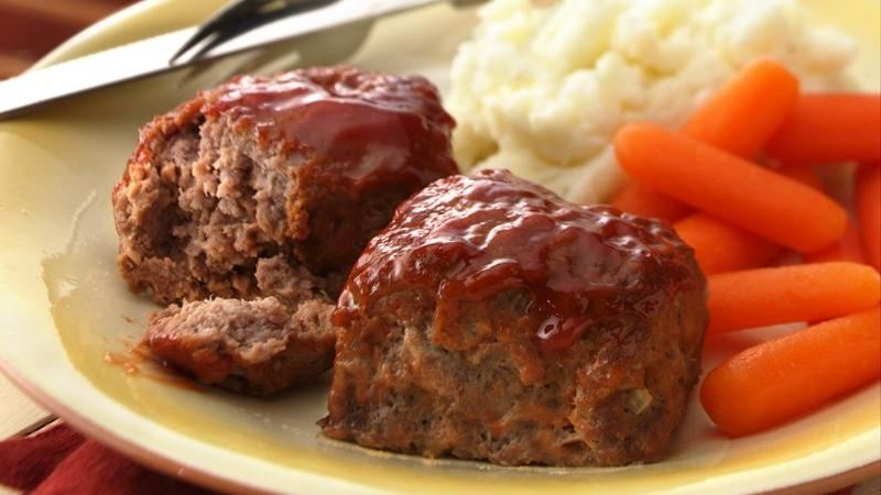 Individual Turkey Meat Loaves