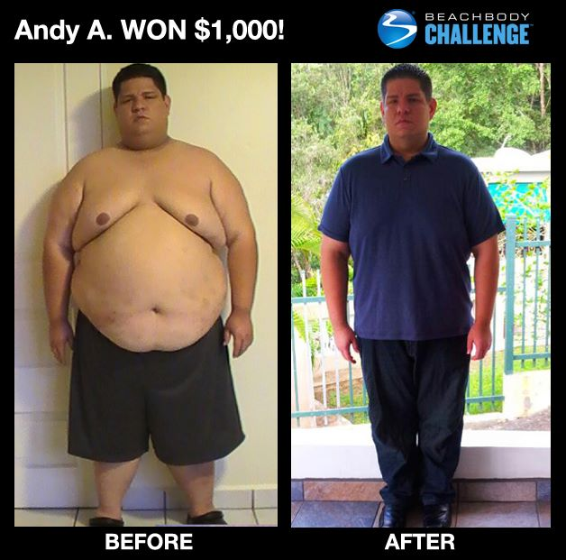 Andy Dropped 200 Pounds!