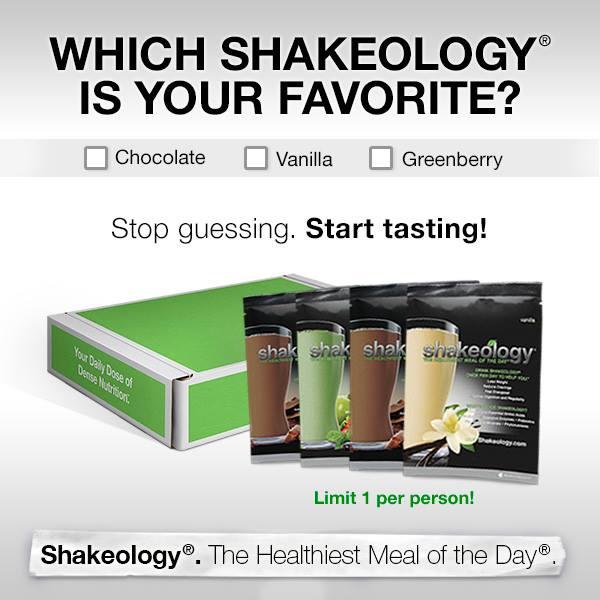 Shakeology Sampler - 3 Flavors