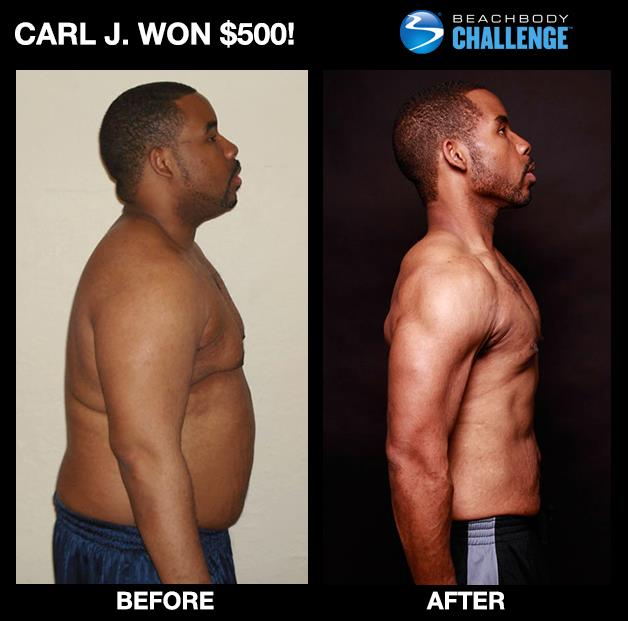 Carl J - Wins $500 With P90X!