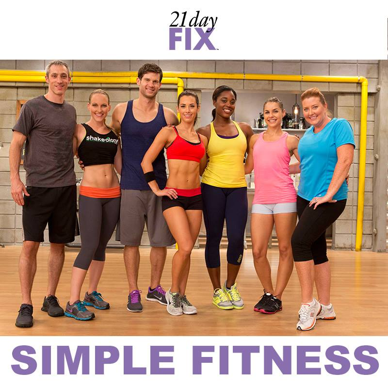 Simple Fitness - 21 Day Fix