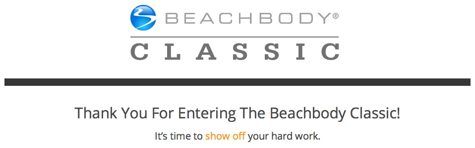 2014 Beachbody Classic Competition