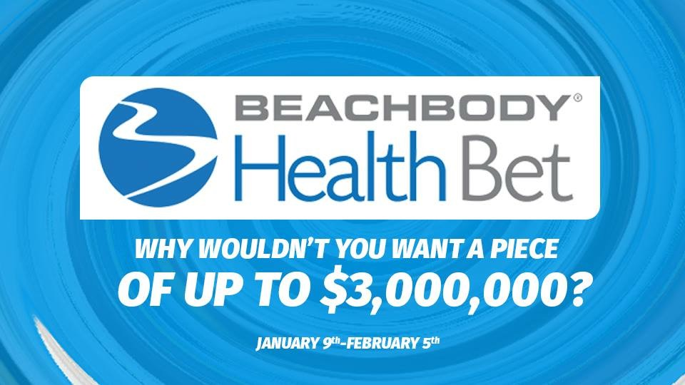 Beachbody Winter Health Bet