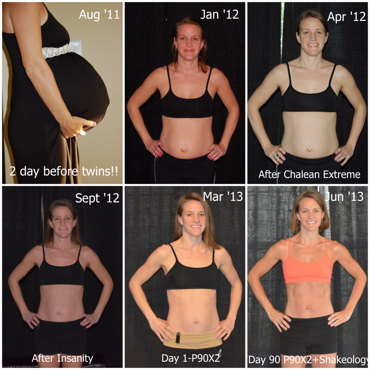 P90X2 Results - Debbie - Mother of 4