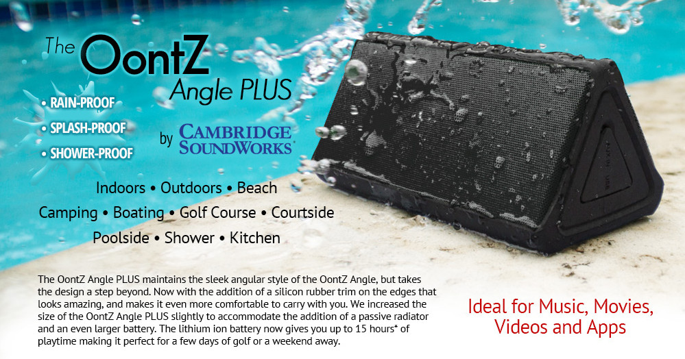 Cambridge SoundWorks OontZ Angle PLUS Bluetooth Speaker