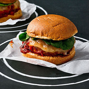 Chicken Parm Burger