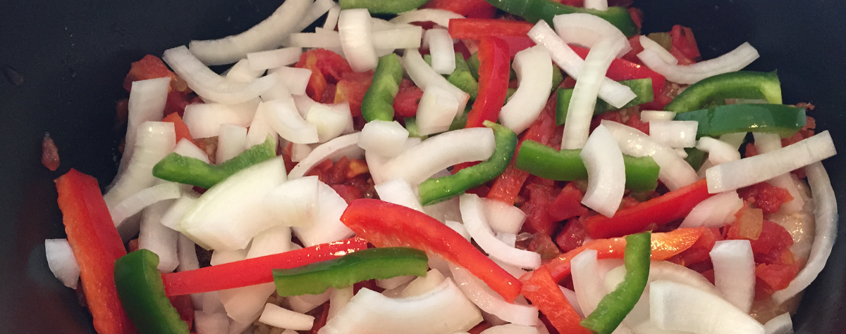 Slow Cooker Healthy Chicken Fajitas