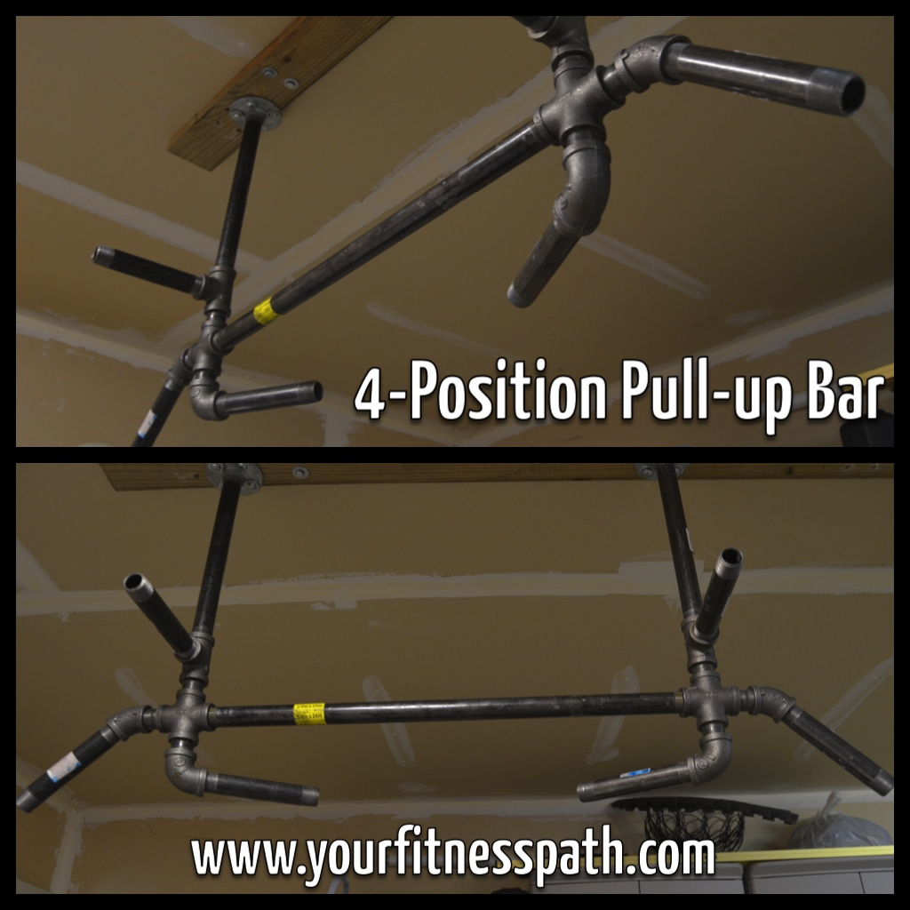 how to make a pull up bar for
