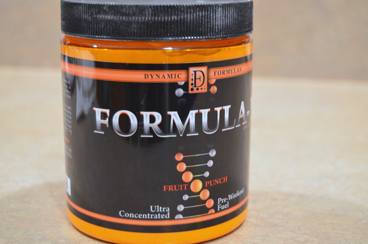 Formula-1 Pre-Workout Review