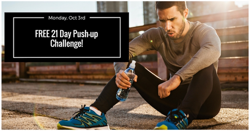 You're Invited: 21 Day Push-up Challenge! - Your Fitness Path