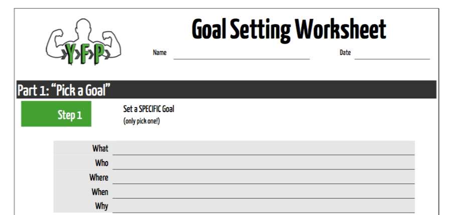 Crush Your Goals Fitness Path. Crush Your Goals Goal Setting Worksheet. Worksheet. Goal Setting Worksheet At Mspartners.co
