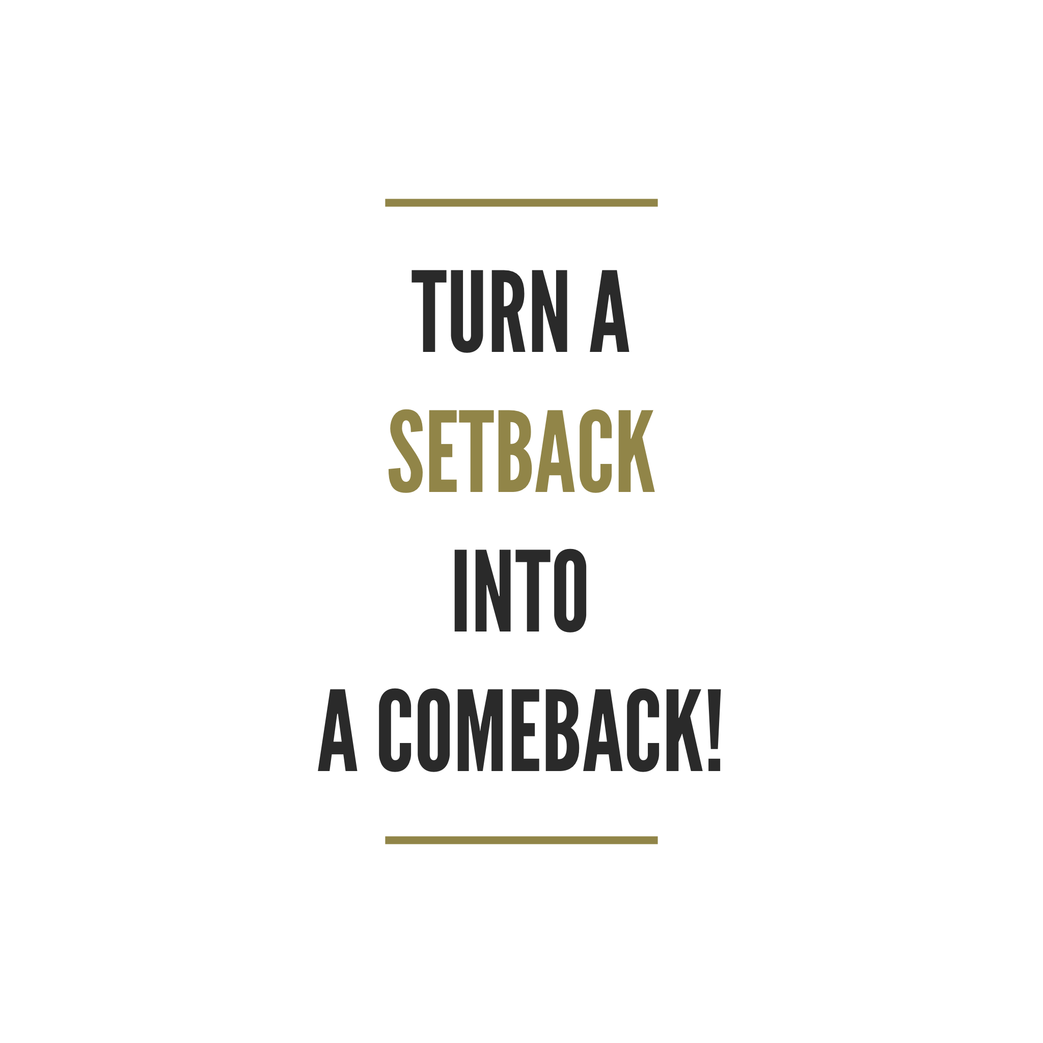 Dealing With Fitness Setbacks