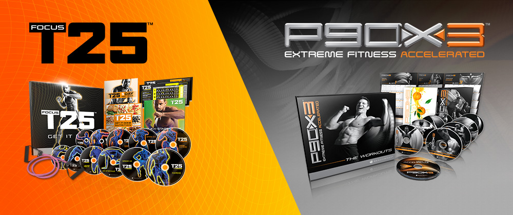 P90X3 & Focus T25 – Special January Discount
