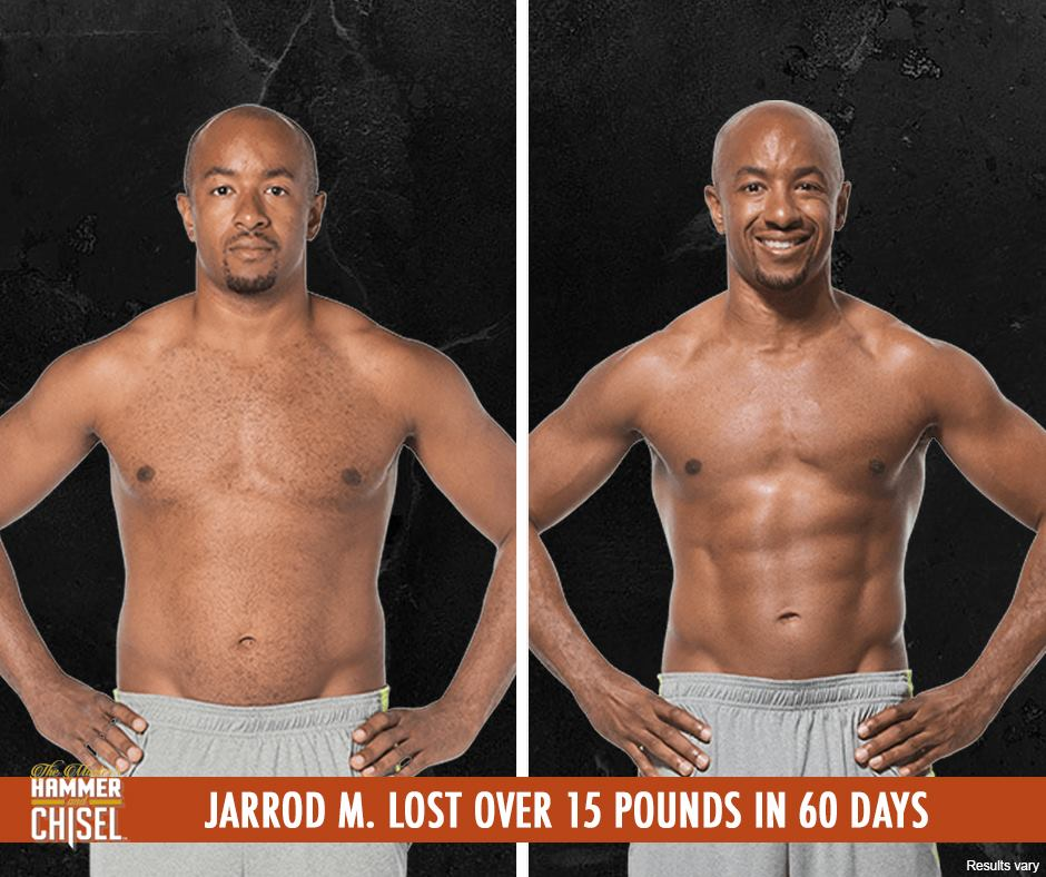 Jarrod Lost 15 Pound With Hammer and Chisel