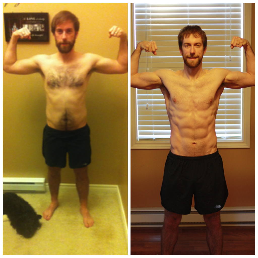 Keith's Killer P90X Results!