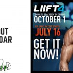 LIIFT4 Workout Calendar