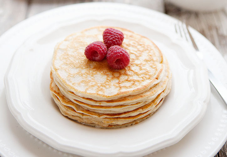 Low Carb Blender Pancakes