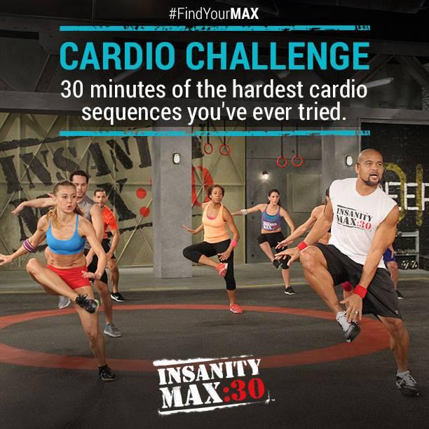 Insanity Max:30 Cardio Challenge