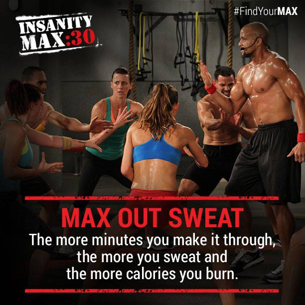 Insanity Max:30 Max Out Sweat