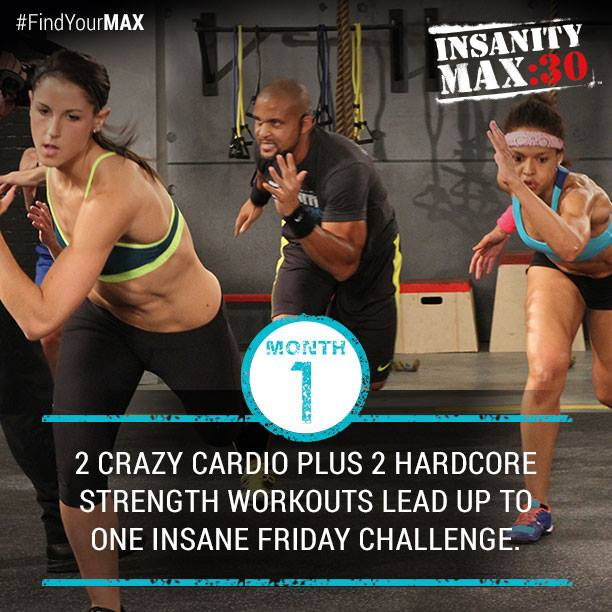 Insanity Max:30 - Month 1 Workouts