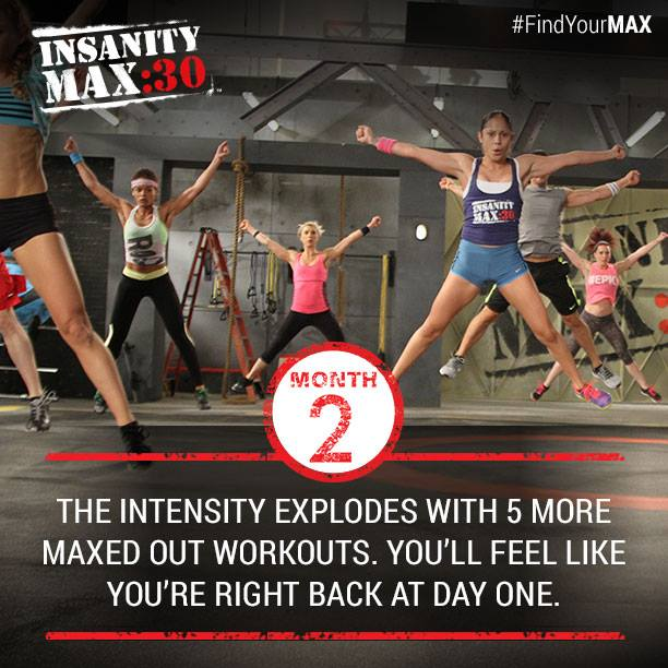 Insanity Max:30 - Month 2 Workouts