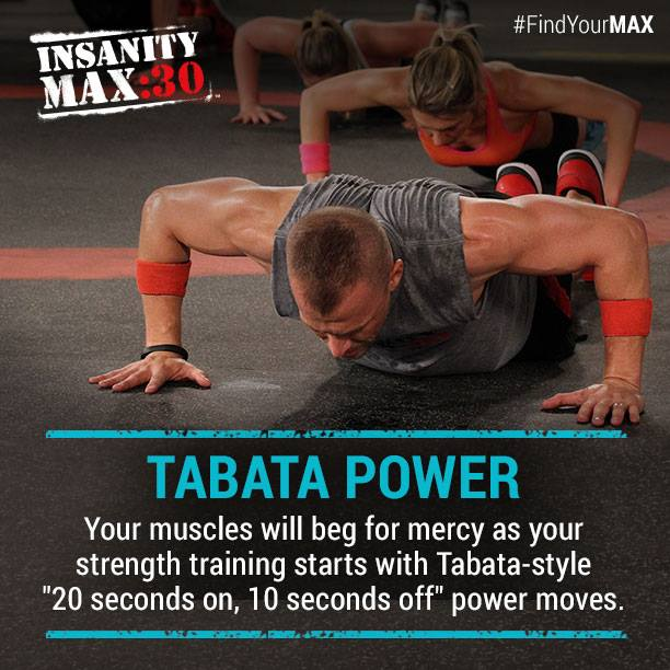 Insanity Max:30 Tabata Power