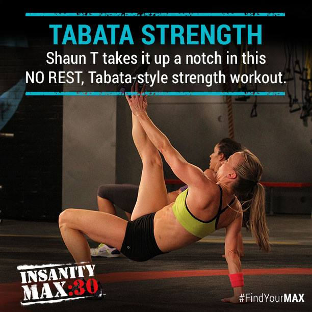 Insanity Max:30 Tabata Strength