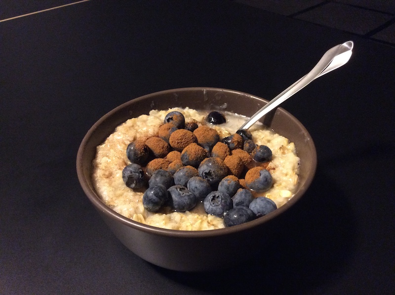 Pre-workout Meal - Oatmeal