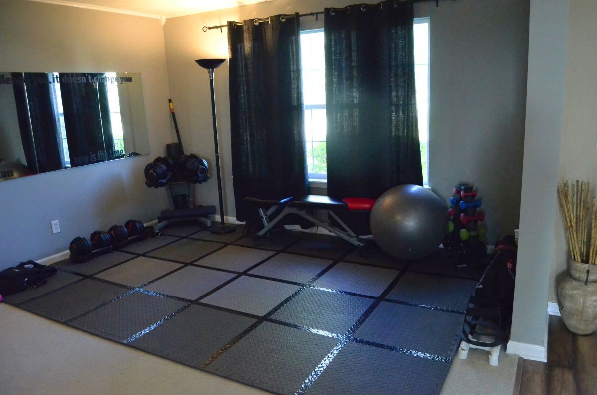 Workout Area Floors