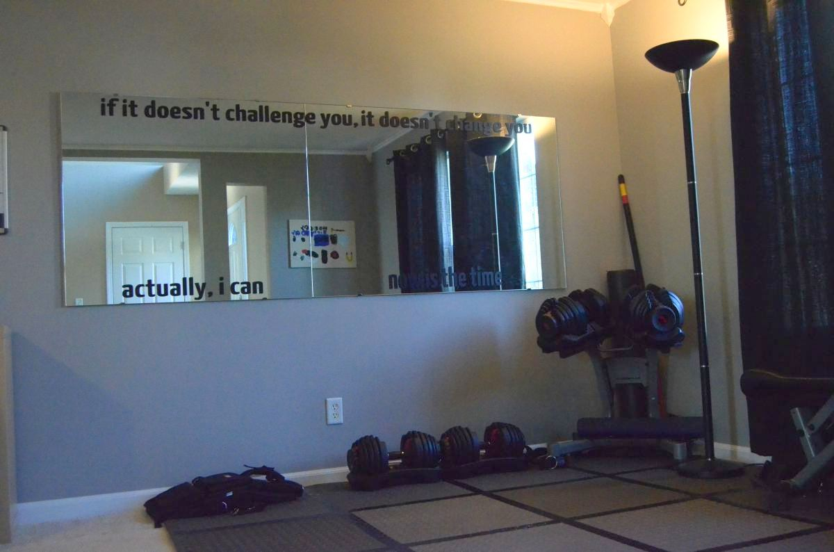 New Workout Room Digs Your Fitness Path