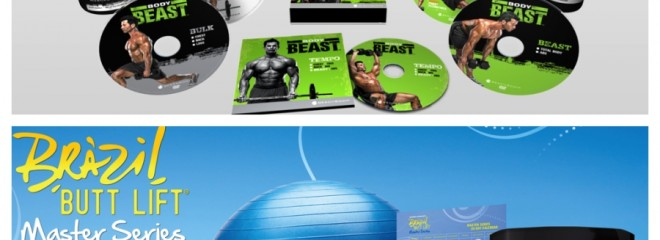 New Body Beast and Brazil Butt Lift Challenge Packs