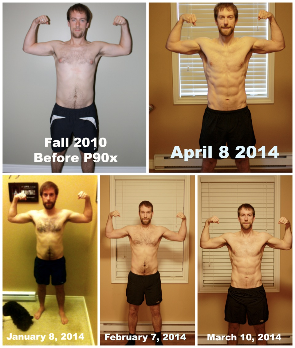 P90X Results - Keith B.
