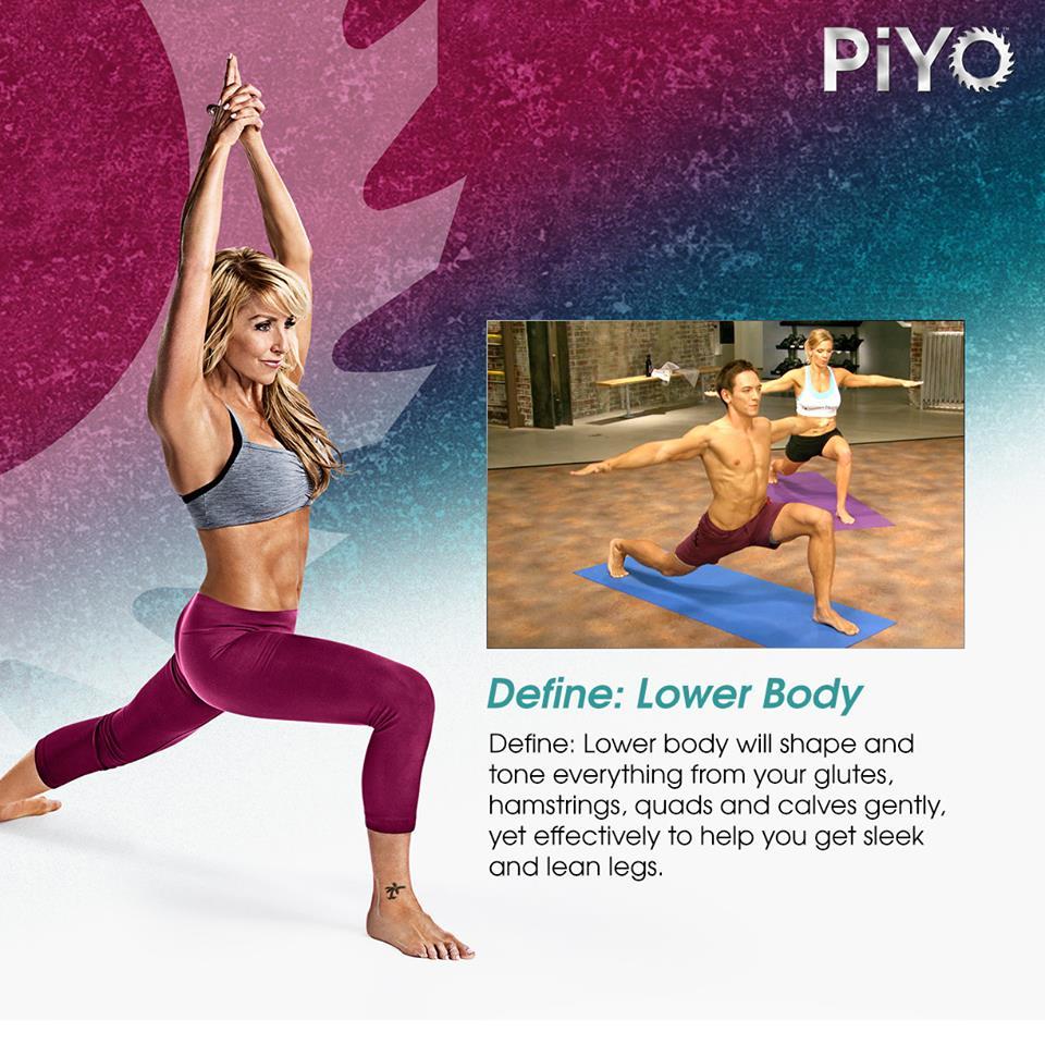 PiYo Define - Lower Body