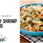 Recipe of the Week – Lemony Shrimp Linguine