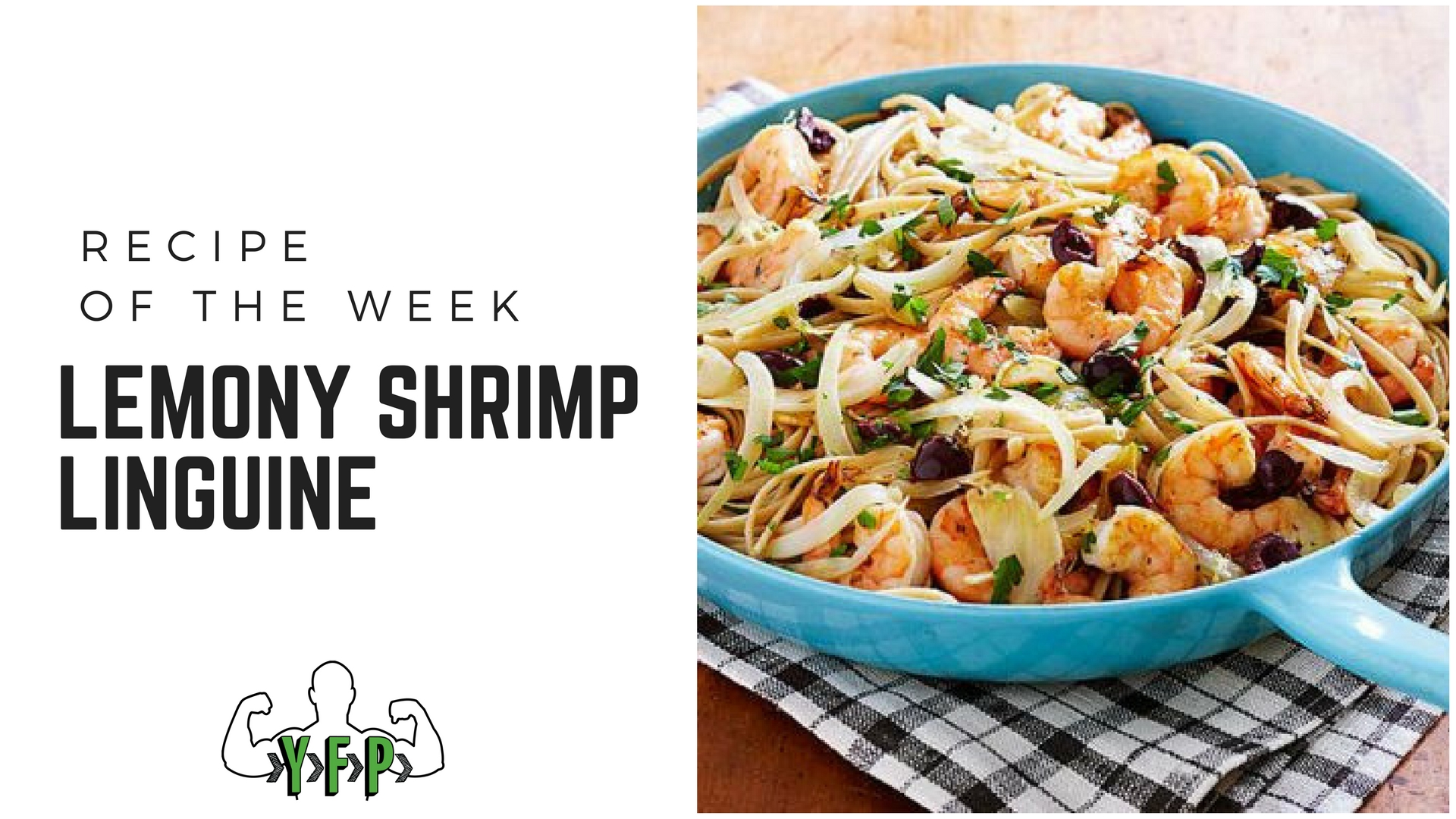 Lemony Shrimp Linguine