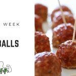 Recipe of the Week -  BBQ Meatballs