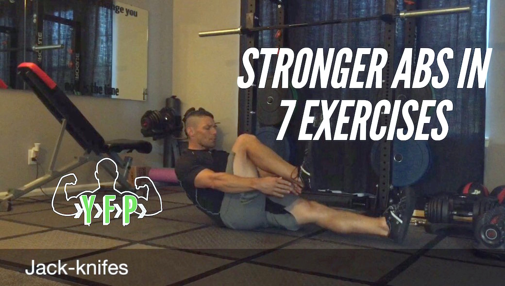 Stronger Abs in 7 Exercises