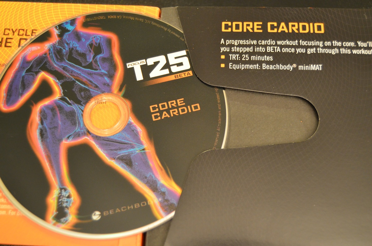 Focus T25 – Beta Core Cardio – Review